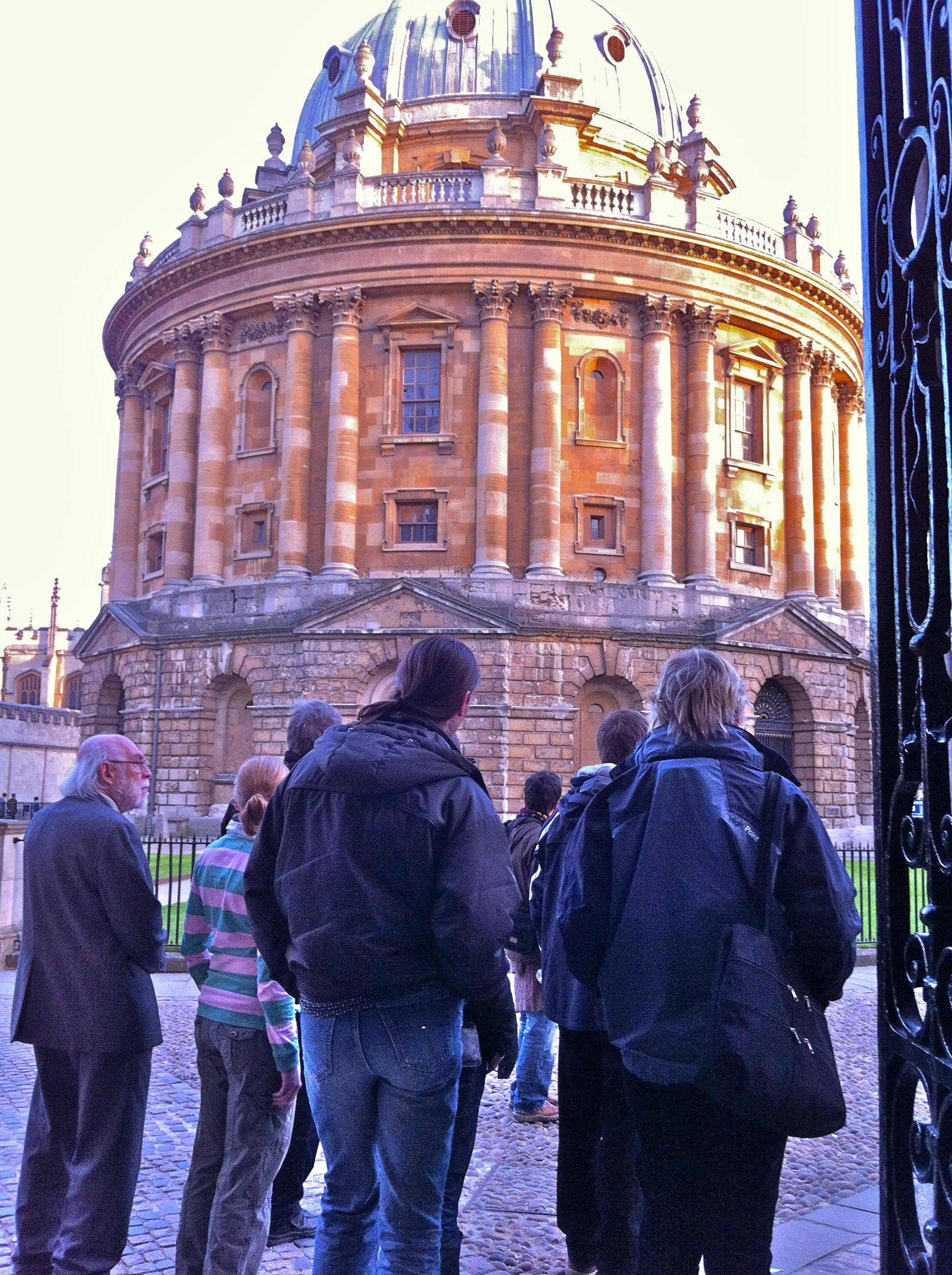 Pre-Conference Tour of Oxford (Radcliffe Camera)