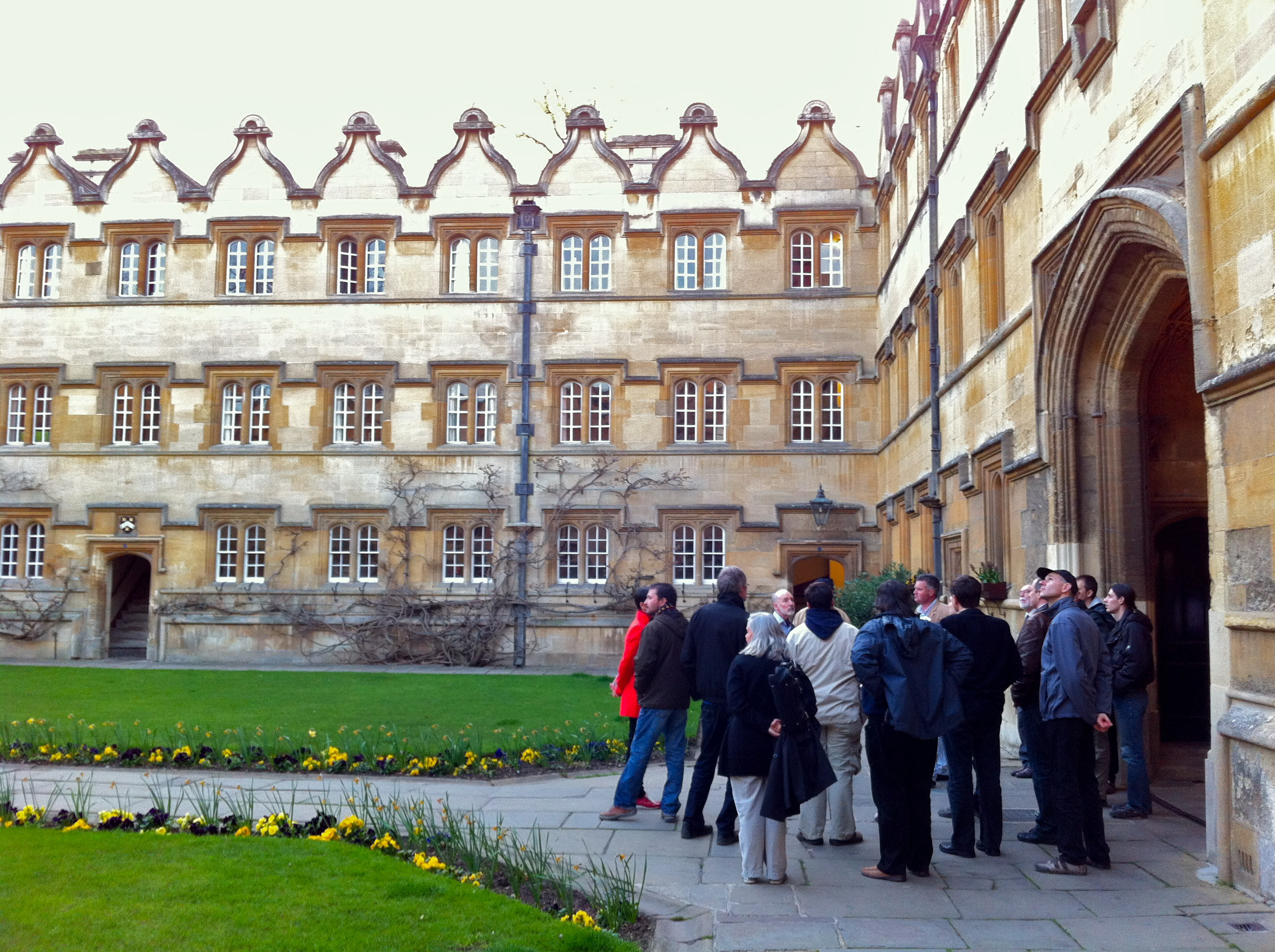 Pre-Conference Tour of Oxford (University College)