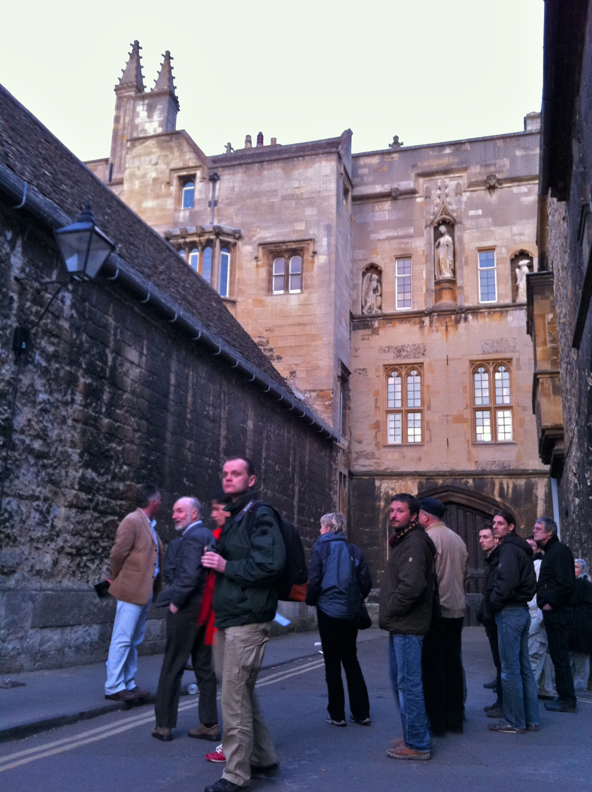 Pre-Conference Tour of Oxford (New College)