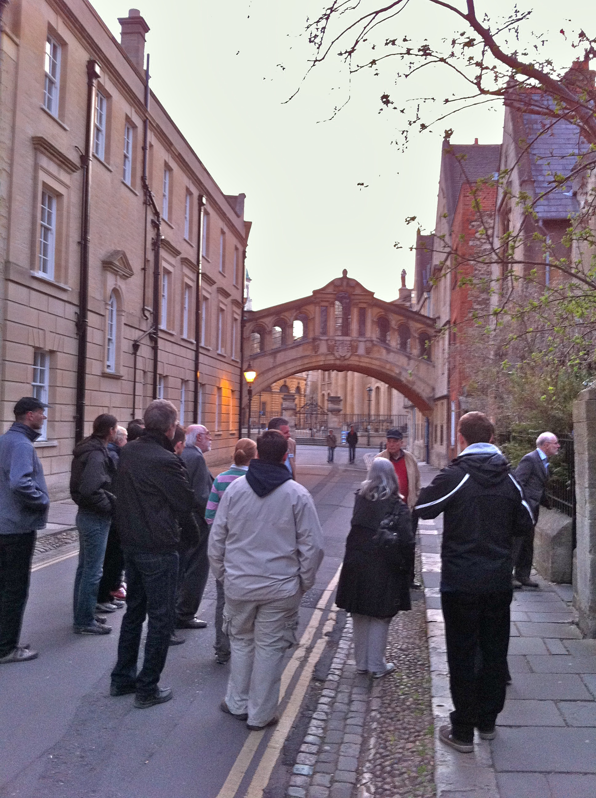 Pre-Conference Tour of Oxford (Bridge of Sighs)